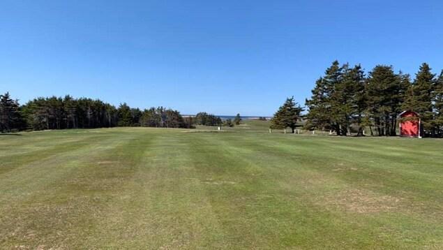 Le club de golf des Îles de la Madeleine.