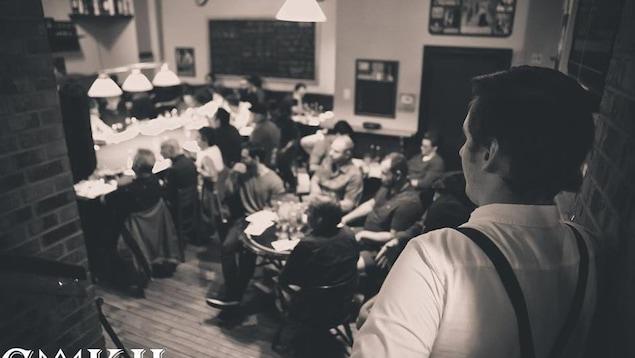 Le Club de whisky du King Hall existe depuis quatre ans et affiche très souvent complet.