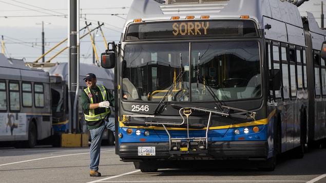 Un autobus de Translink à Vancouver.