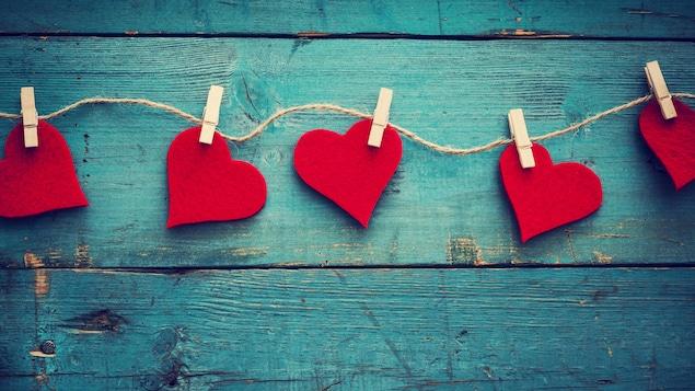 Des cœurs pour la Saint-Valentin