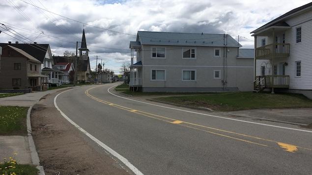 La route 381, dans Charlevoix