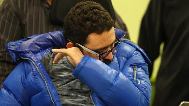 Aymen Derbali avait peine à contenir son émotion.