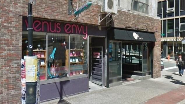 Le commerce Venus Envy au centre-ville d'Halifax