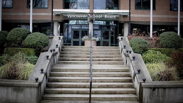 Immeuble de la Commission scolaire de Vancouver (Vancouver school board).
