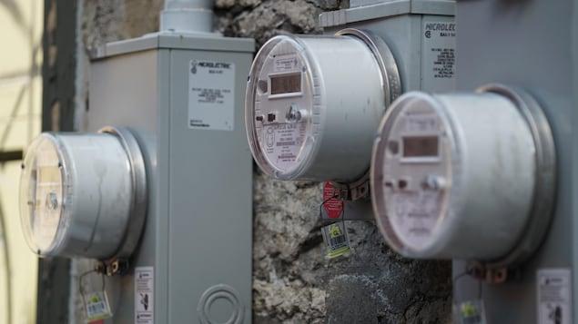 Des compteurs électriques