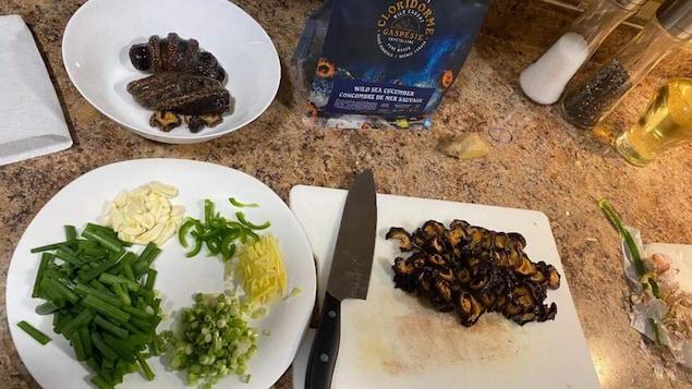 Le concombre de mer de la Poissonnerie Cloridorme est vendu en Asie et maintenant dans l'Ouest canadien.