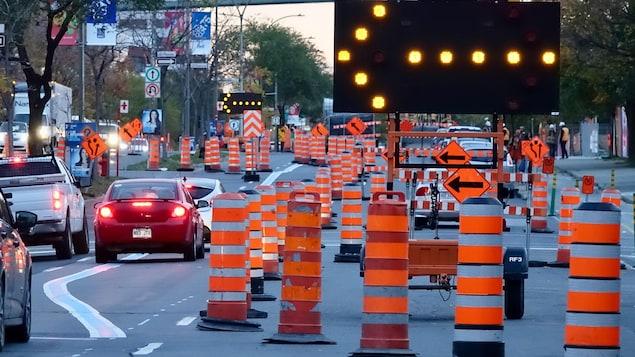 Plusieurs routes seront fermées à la circulation dès samedi minuit, cette fin de semaine.