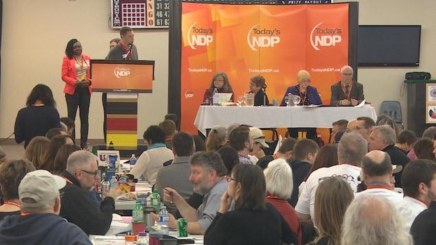 Congrès 2017 du NPD du Manitoba