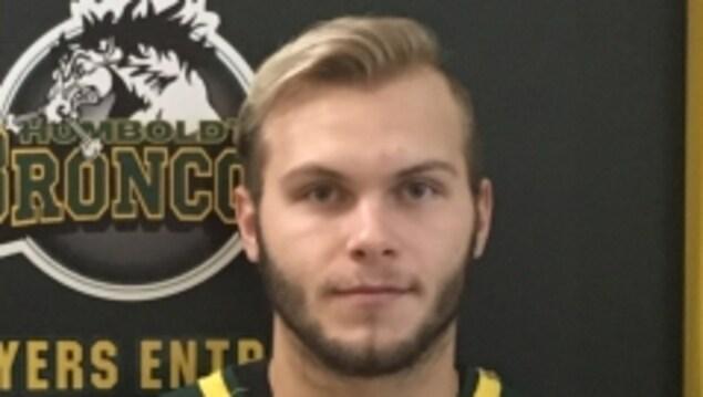 Photo de Conner Lukan tirée du site de la Ligue de hockey junior de la Saskatchewan.