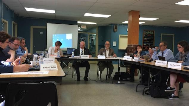 La séance du CA du CISSS-AT avait lieu à Ville-Marie.