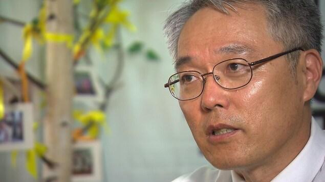 Song In-Soo, un ex-enseignant sud-coréen à la retraite.