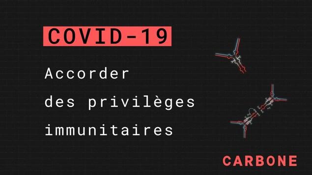 COVID-19: Accorder des privilèges immunitaires.