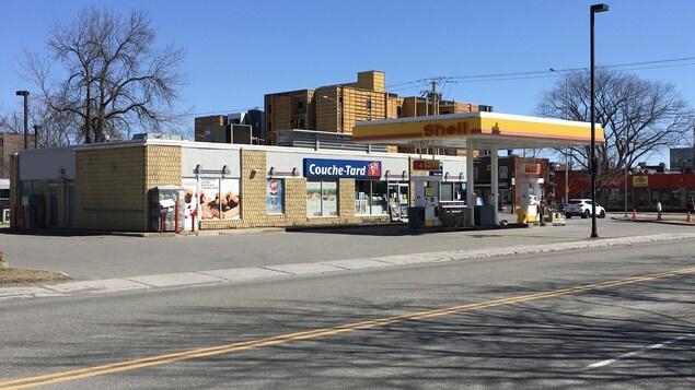 Un dépanneur Couche-Tard de l'avenue d'Estimauville à Québec