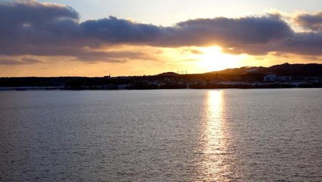 Coucher de soleil sur Cap-aux-Meules