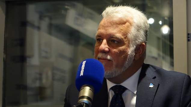 Le chef du PLQ Philippe Couillard