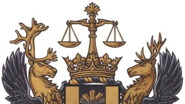 Le blason de la Cour fédérale du Canada.