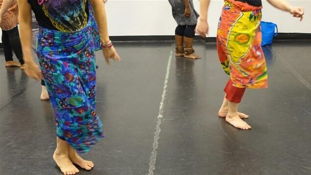 Le premier cours de danse traditionelle du Burundi.
