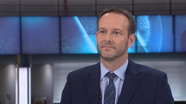Marc Lacasse, en entrevue avec Patrice Roy
