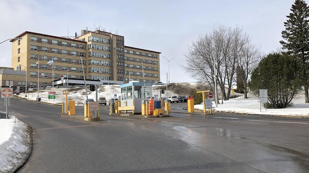 Un hôpital.