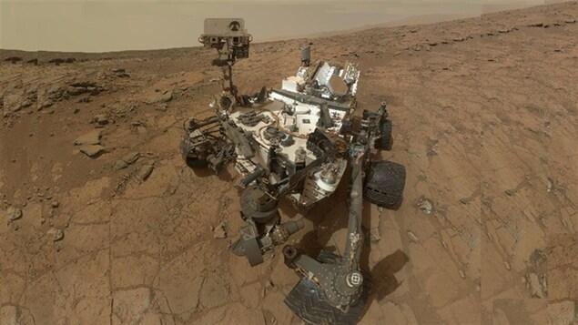 Un autoportrait du rover américain Curiosity sur la surface de Mars