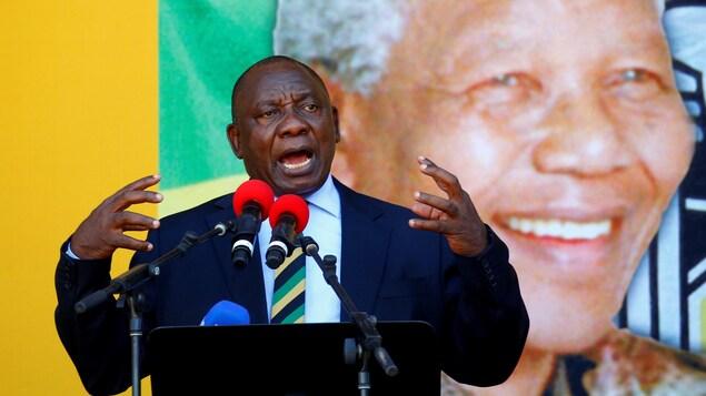 Le vice-président de l'Afrique du Sud, Cyril Ramaphosa.