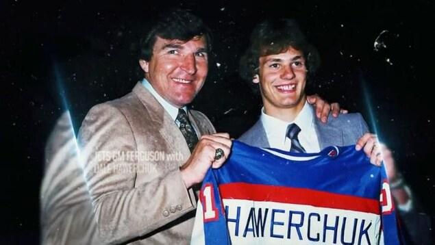 Dale Hawerchuk et John Ferguson