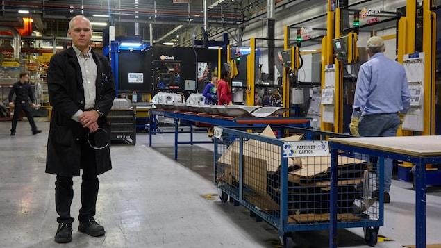Le directeur du génie manufacturier à Spectra Premium, Daniel Deschênes
