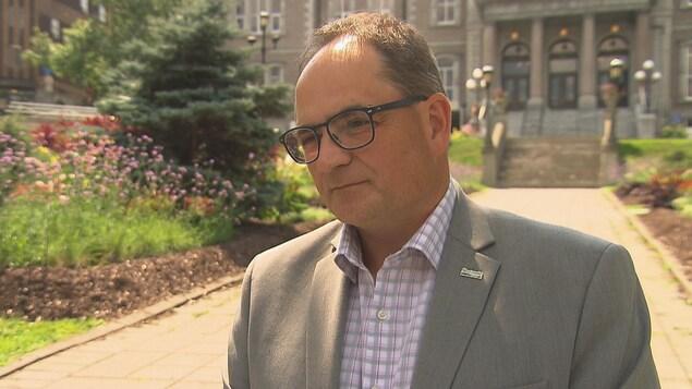 Le directeur général de la Ville de Sherbrooke, Daniel Picard.