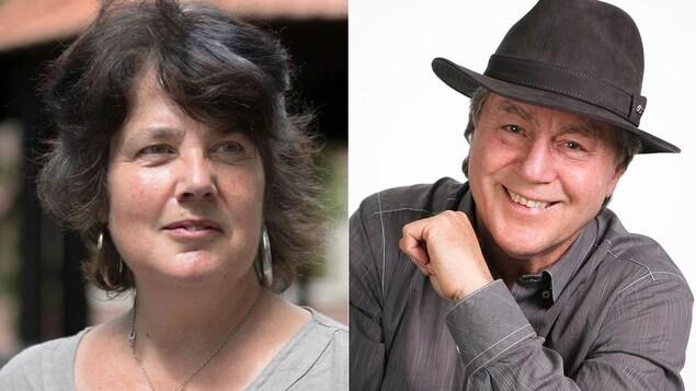 Les auteurs Danielle Dussault et Jacques Clermont