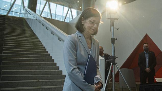 La ministre Danielle McCann