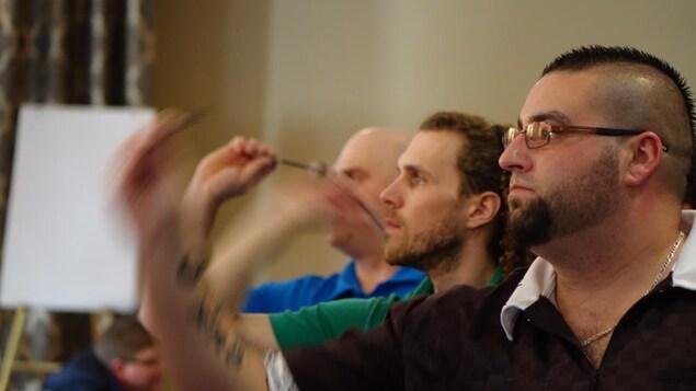 Plus d'une centaine de personnes ont participé au Tournoi de dards Dan Cruickshank Memorial.