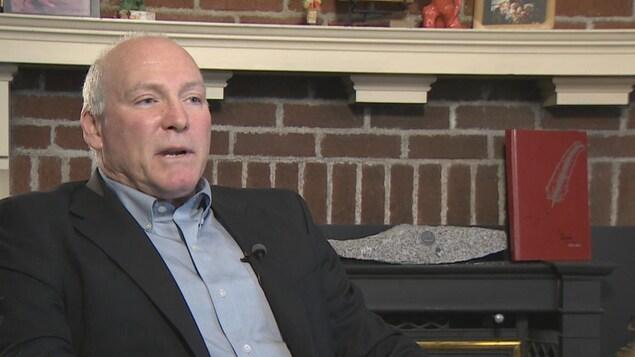 David Adams, père de Gavin Adams, décédé en 2013.