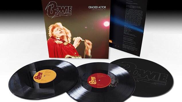Le disque «Cracked Actor (Live in Los Angeles 1974)» de David Bowie figure parmi les nouveautés en vinyle de la Journée des disquaires indépendants cette année