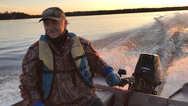 Jacques Cormier, président de l'Association chasse et pêche de Val-d'Or.