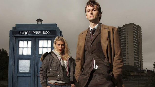 Billie Piper et David Tennant dans « Doctor Who »