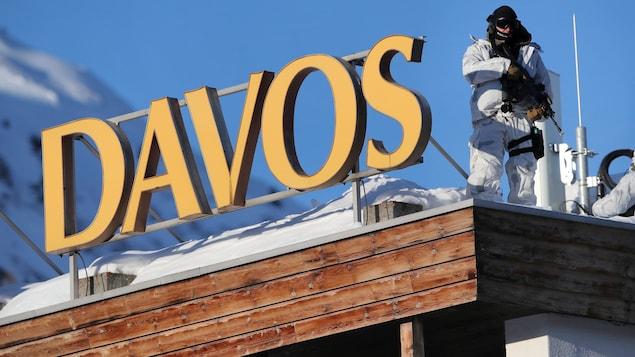 Le centre des congrès de Davos, où se déroulera le Forum économique.