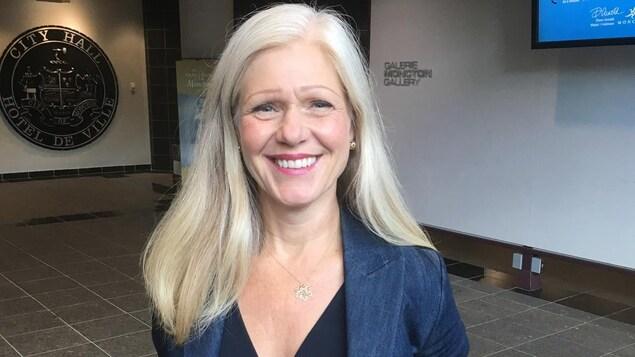 La mairesse de Moncton, Dawn Arnold.