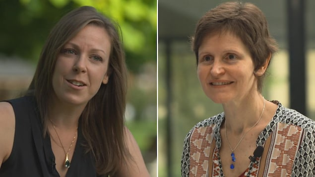 Émilie De Tournay-Jetté, psychologue à Institut universitaire de santé mentale de Montréal (à gauche) et Hélène Lœvenbruck (à droite), chercheuse en neurolinguistique, Laboratoire de Psychologie et NeuroCognition, CNRS, Université Grenoble Alpes
