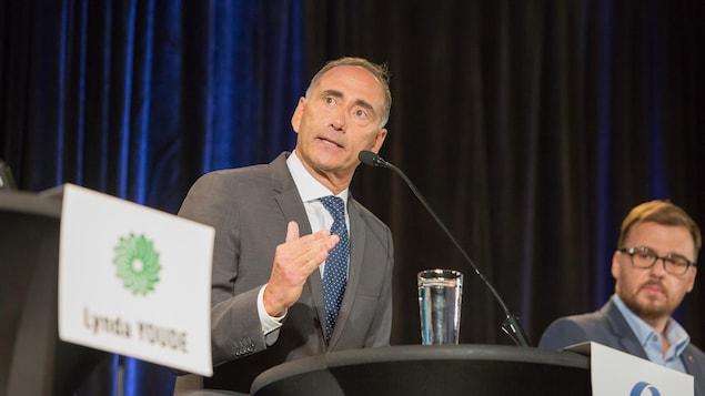 Richard Martel, candidat conservateur dans Chicoutimi-Le-Fjord.