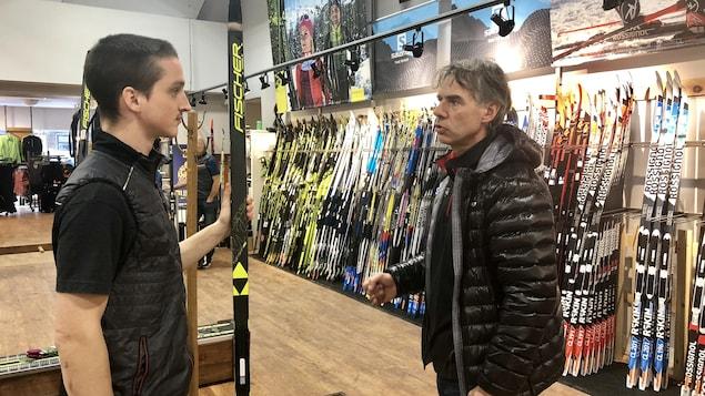 La boutique spécialisée Demers bicyclettes et skis de fond