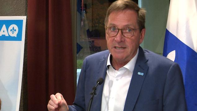 Le nouveau député dans Rivière-du-Loup-Témiscouata Denis Tardif.