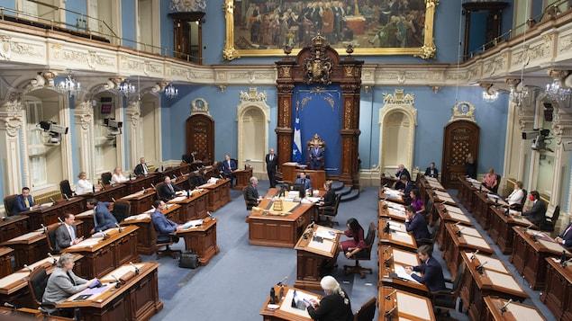 Le Salon de l'Assemblée nationale.