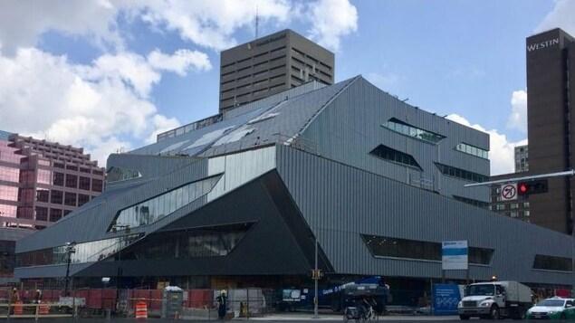 Le nouveau design de la bibliothèque d'Edmonton