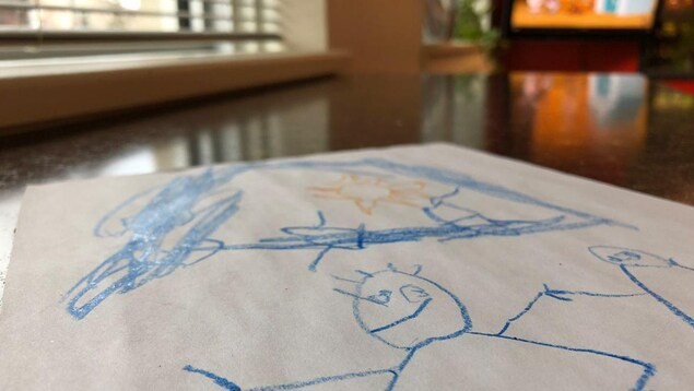 Un dessin d'enfant.