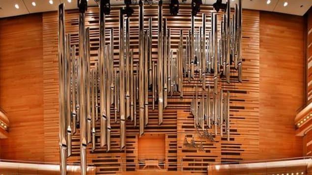 L'orgue Casavant de la Maison symphonique à Montréal