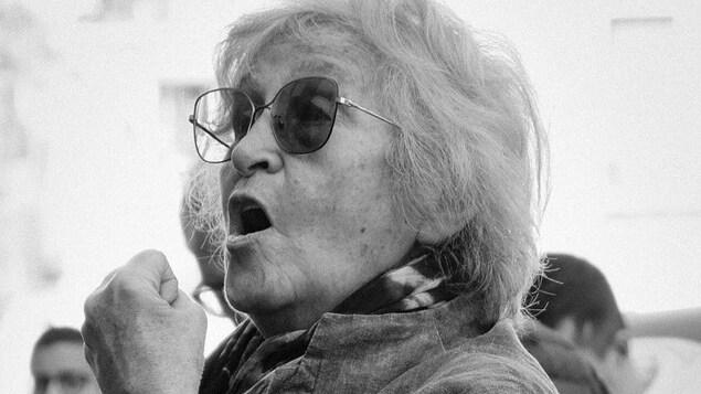 Wassyla Tamzali, ancienne avocate à Alger, ex-directrice des droits des femmes à l'Unesco, féministe et essayiste.