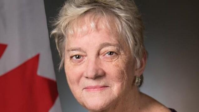Diana Abel a été décorée de la Croix d'argent.