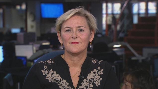 La présidente de la Fédération des médecins spécialistes du Québec, Diane Francoeur