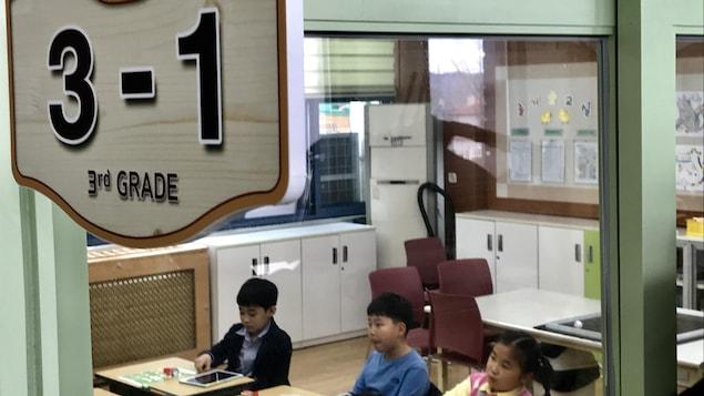 École de Taesung-dong, avril 2018.