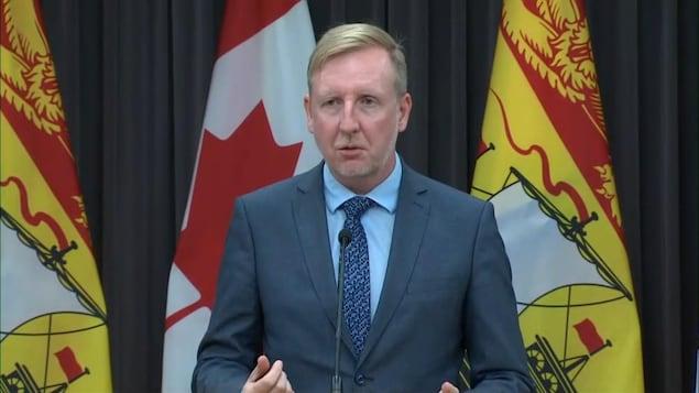 Le ministre de l'Éducation, Dominic Cardy, le 12 octobre 2020.